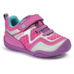 pediped™ Grip & Go - Force Pink Silver