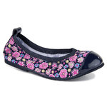 pediped™ Flex - Angie Navy Floral