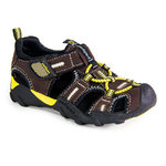 pediped™ Flex - Canyon Chocolate Yellow