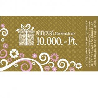Ajándékutalvány 10000 Ft -